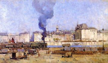 Boulogne Artwork by Sir Arthur Streeton