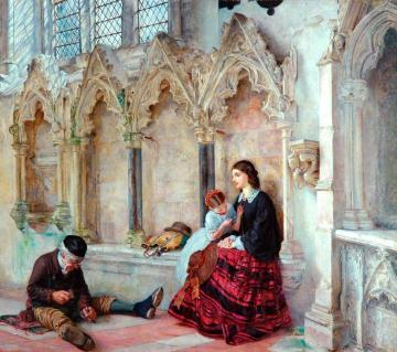 Man goeth forth to his labours Artwork by Philip Hermogenes Calderon