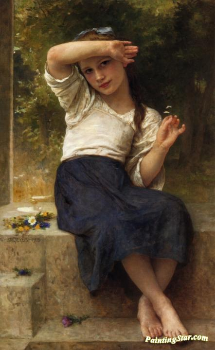 Marguerite Artwork by William Adolphe Bouguereau