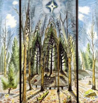Glory To God Artwork by Charles Burchfield