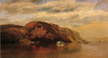 On The Hudson Artwork by John George Brown