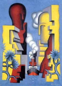 The Isthmus Of Corinth Artwork by Jean Metzinger