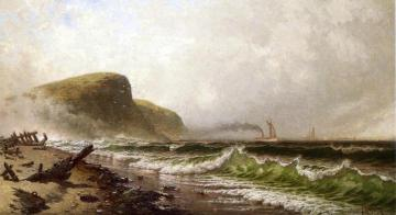 Stormy Seascape Artwork by Alfred Thompson Bricher