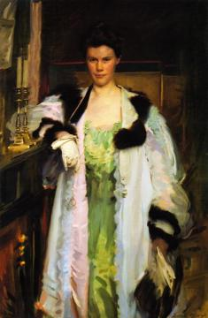 Bertha Hallowell Vaughan Artwork by Cecilia Beaux