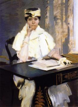 Bessie Vance Brooks Artwork by Cecilia Beaux
