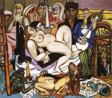 The Town Artwork by Max Beckmann