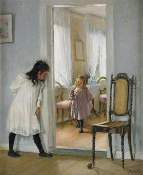 Hide And Seek Artwork by Fanny Brate