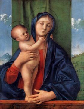 Madonna with the Child Artwork by Giovanni Bellini