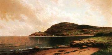 Beached Rowboat Artwork by Alfred Thompson Bricher