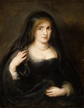 Portrait of a Woman, Probably Susanna Lunden Artwork by Peter Paul Rubens