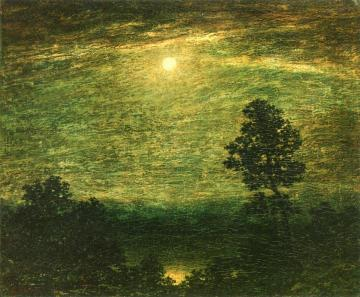 Moonlit Lake Artwork by Ralph Albert Blakelock
