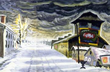 Clearing After a Snowstorm Artwork by Charles Burchfield