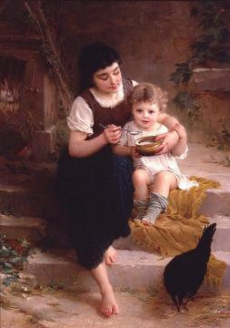 Big Sister Artwork by Emile Munier