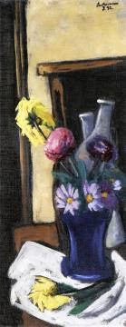 Autumn Flowers Artwork by Max Beckmann