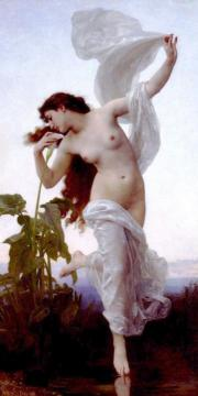 L'aurore Artwork by William Adolphe Bouguereau