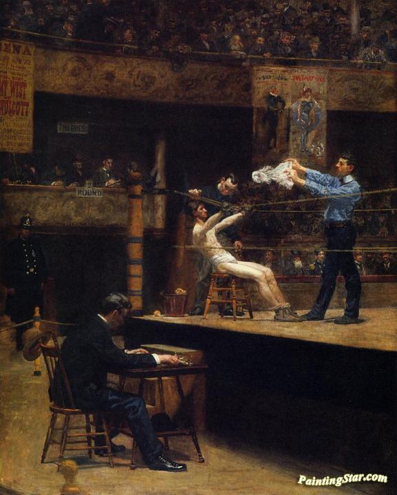 Thomas Eakins Wrestlers