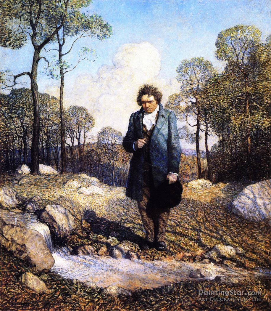 Beethoven Paintings For Sale
