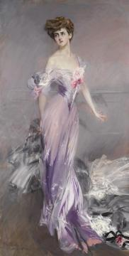 Portrait Of Mrs. Howard-johnston (dolly Baird Of Bunbarton) Artwork by Giovanni Boldini
