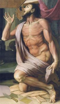 Saint Bartholomew Artwork by Agnolo Bronzino