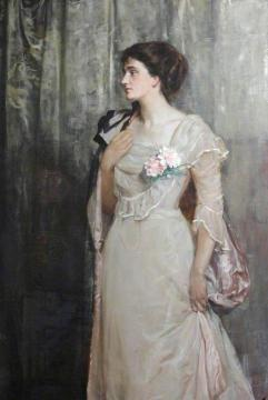 The Honourable Florence Rachel Hamilton-Russell Artwork by John Maler Collier