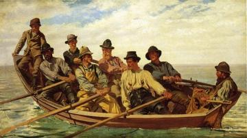 Pull For The Shore Artwork by John George Brown