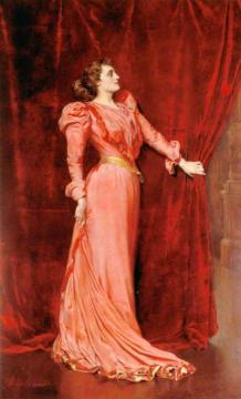 Julia Neilson-Terry as Drusilla Ives in 'The Dancing Girl' Artwork by John Maler Collier