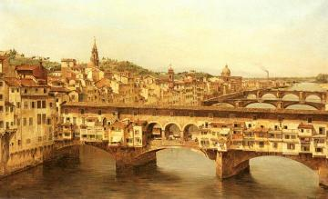 View Of The Ponte Vecchio, Florence Artwork by Antonietta Brandeis