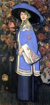 Le Manteau Chinois Artwork by John Duncan Fergusson
