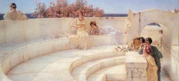 Under The Roof Of Blue Ionian Weather Artwork by Sir Lawrence Alma-Tadema