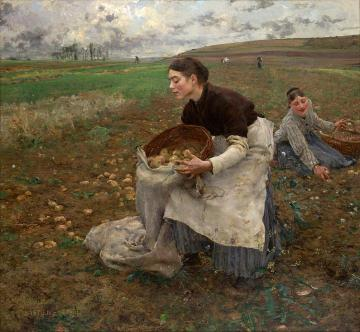 October Artwork by Jules Bastien-Lepage