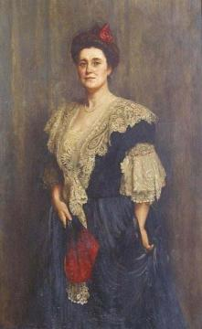 Portrait of Mrs Adeline Hurry Artwork by John Maler Collier
