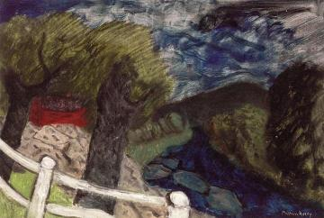 The Blue Brook, Vermont Artwork by Milton Avery