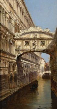 The Bridge of Sighs Artwork by Antonietta Brandeis