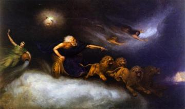 The Spirit of the Storm Artwork by William Holbrook Beard