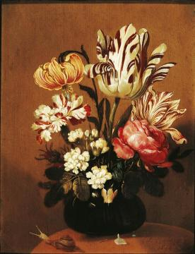 Flower Still Life Artwork by Hans Bollongier