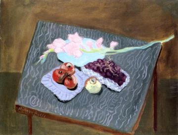 Gladiolus Artwork by Milton Avery