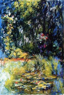 A Corner Of The Water Lily Pond Artwork by Claude Oscar Monet