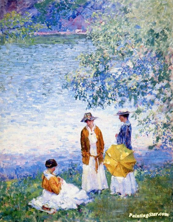 Summer Afternoon Artwork by Alson Skinner Clark