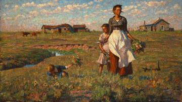 The Prairie Is My Garden Artwork by Harvey T. Dunn