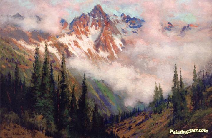 Mount Sneffels San Juan Colorado Artwork By Charles