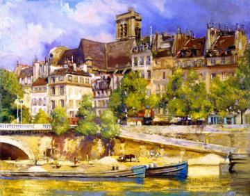 Saint Gervais Artwork by Alson Skinner Clark