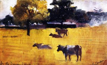 In the Domain, Sydney Artwork by Charles Conder