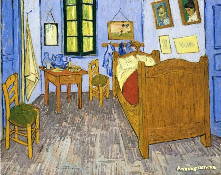 vincent's bedroom in arles artworkvincent van gogh oil painting