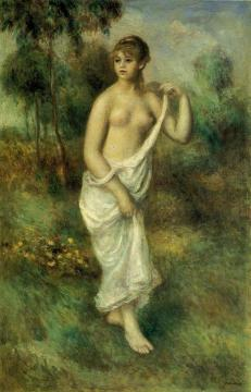 Bather Artwork by Pierre Auguste Renoir