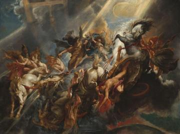 The Fall Of Phaeton Artwork by Peter Paul Rubens