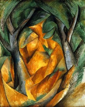 Trees At L'estaque Artwork by Georges Braque