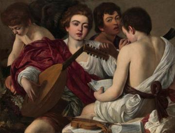 The Musicians Artwork by Caravaggio