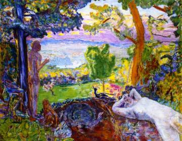 Earthly Paradise Artwork by Pierre Bonnard