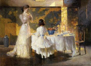 The Artist's Daughters Artwork by Frank W. Benson