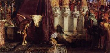 Ave, Caesar! Io, Saturnalia! Artwork by Sir Lawrence Alma-Tadema